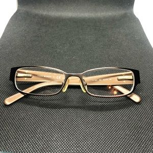 Tory Burch brown and tan glasses frame